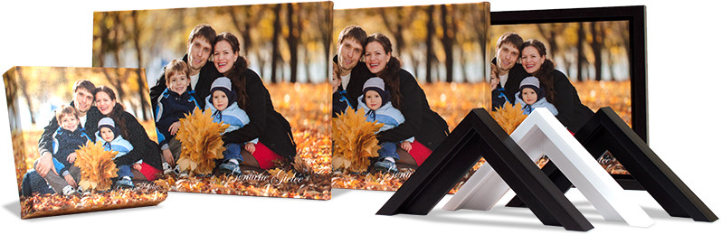 canvas print sample pack for professional photographers