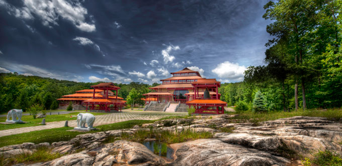 Chuang-yen Monastery in Carmel, NY - photo by RC Concepcion
