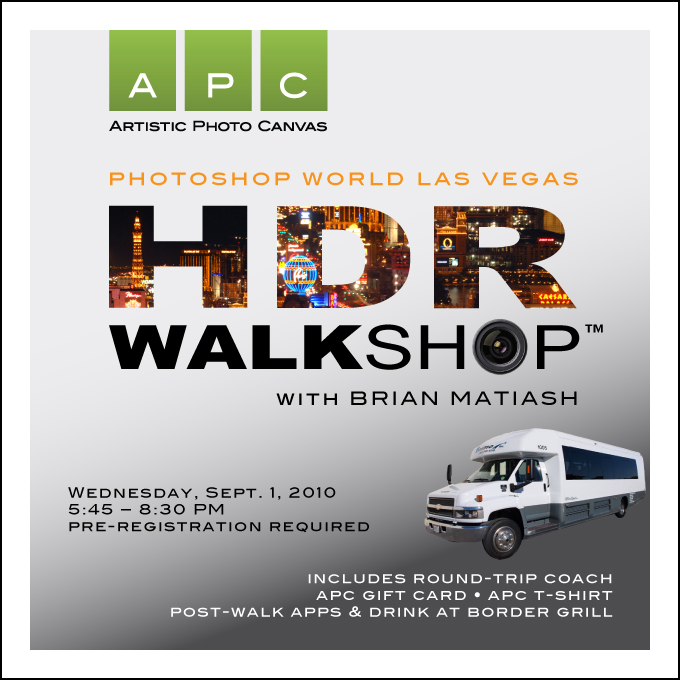 APC's HDR Walkshop with Brian Matiash at Photoshop World Las Vegas