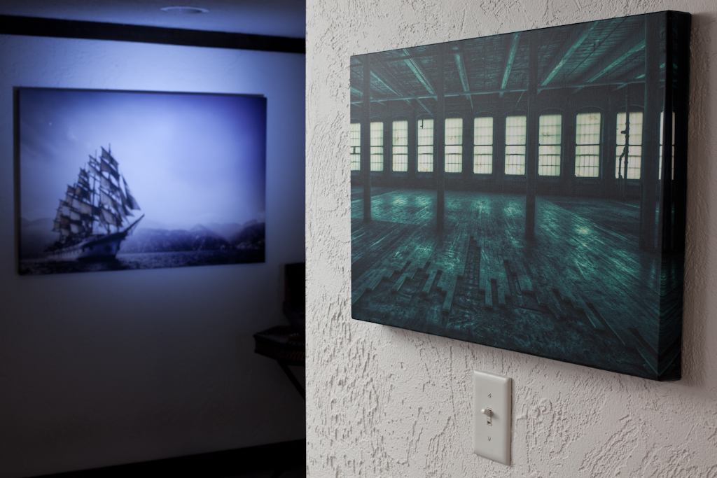 Brian Matiash's HDR images are reproduced on canvas by Artistic Photo Canvas