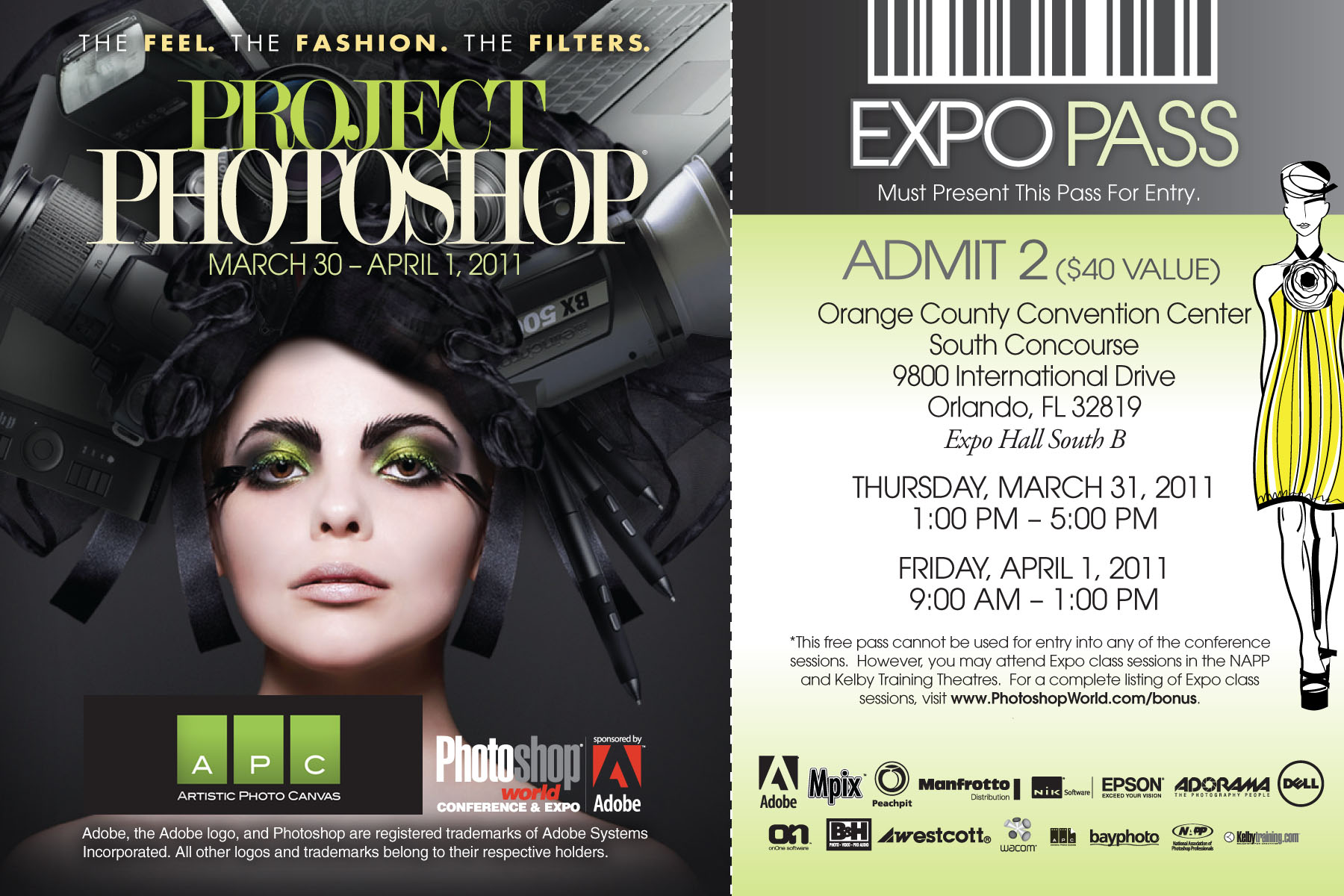 APC Photoshop World Tech Expo Free Pass
