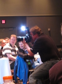 Joe McNally teaches Small Flash Basics at Photoshop World in Orlando, FL, March 2011