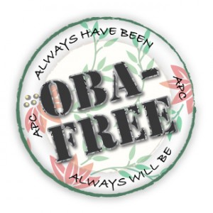 Artistic Photo Canvas prints are OBA-free. Always have been. Always will be.