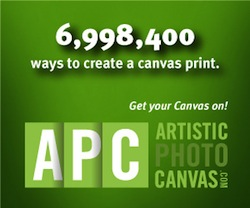Canvas Prints and Gallery Wraps from Artistic Photo Canvas