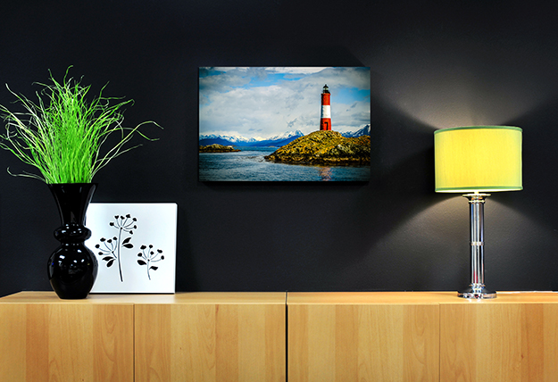 Les Eclaireurs Lighthouse canvas gallery wrap by Artistic Photo Canvas, Martin LaVenture photo