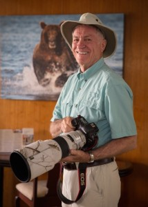 Nature and wildlife photographer Lou Newman